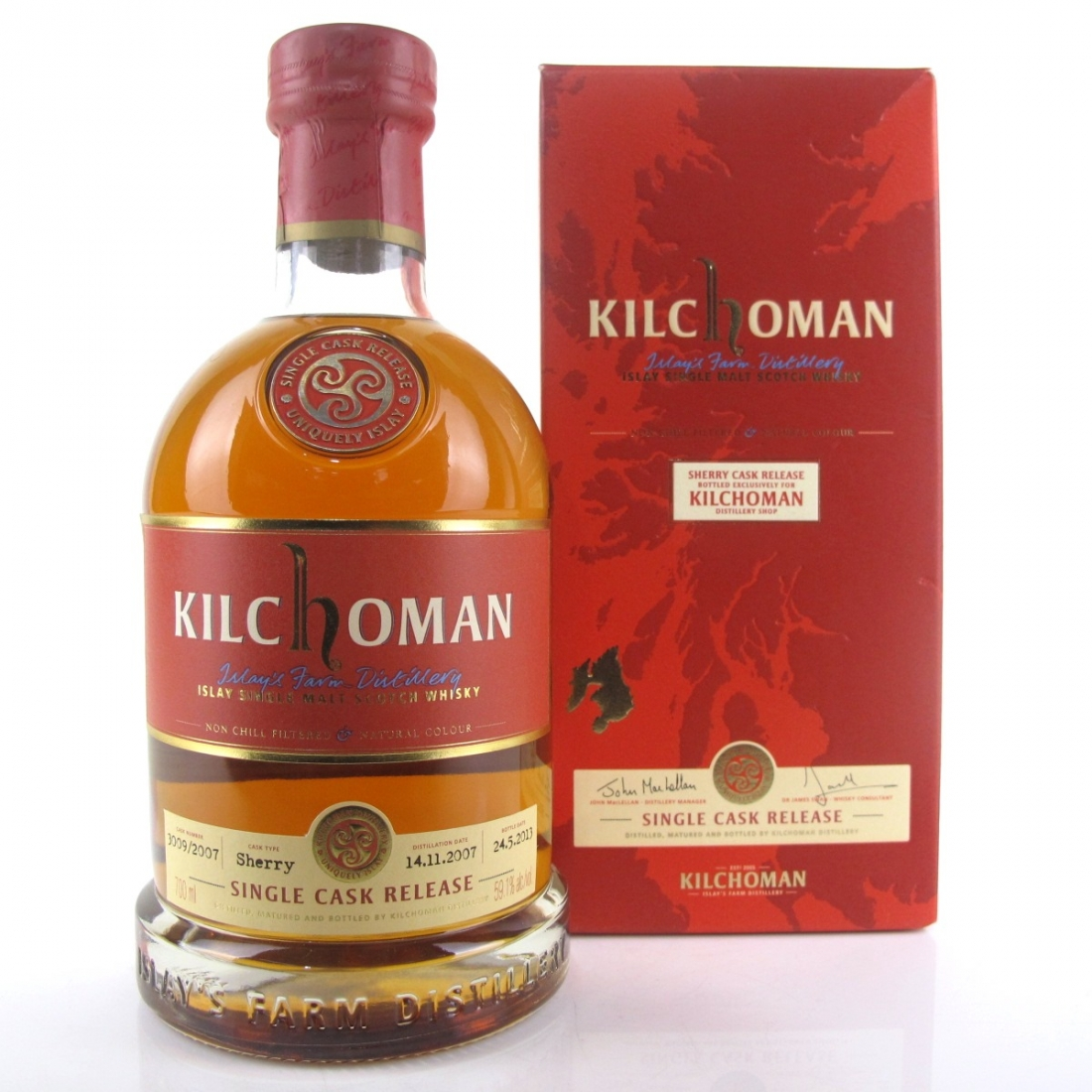 Kilchoman 2007 Single Cask / Distillery Exclusive