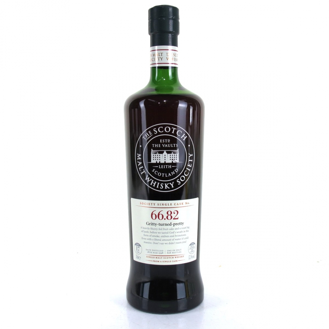 Ardmore 1998 SMWS 17 Year Old 66.82