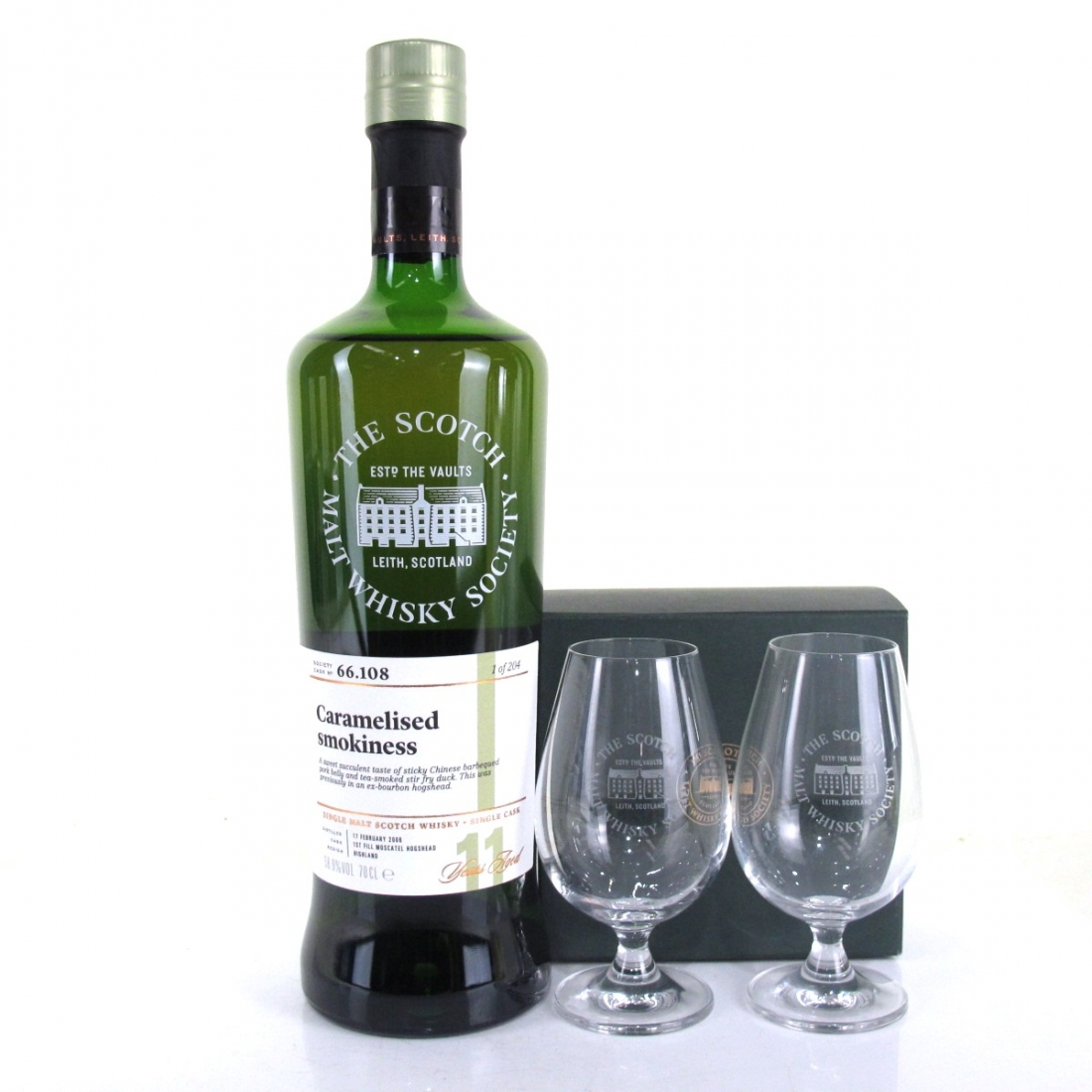 Ardmore 2006 SMWS 11 Year Old 66.108 / Including 2 SMWS Tasting Glasses