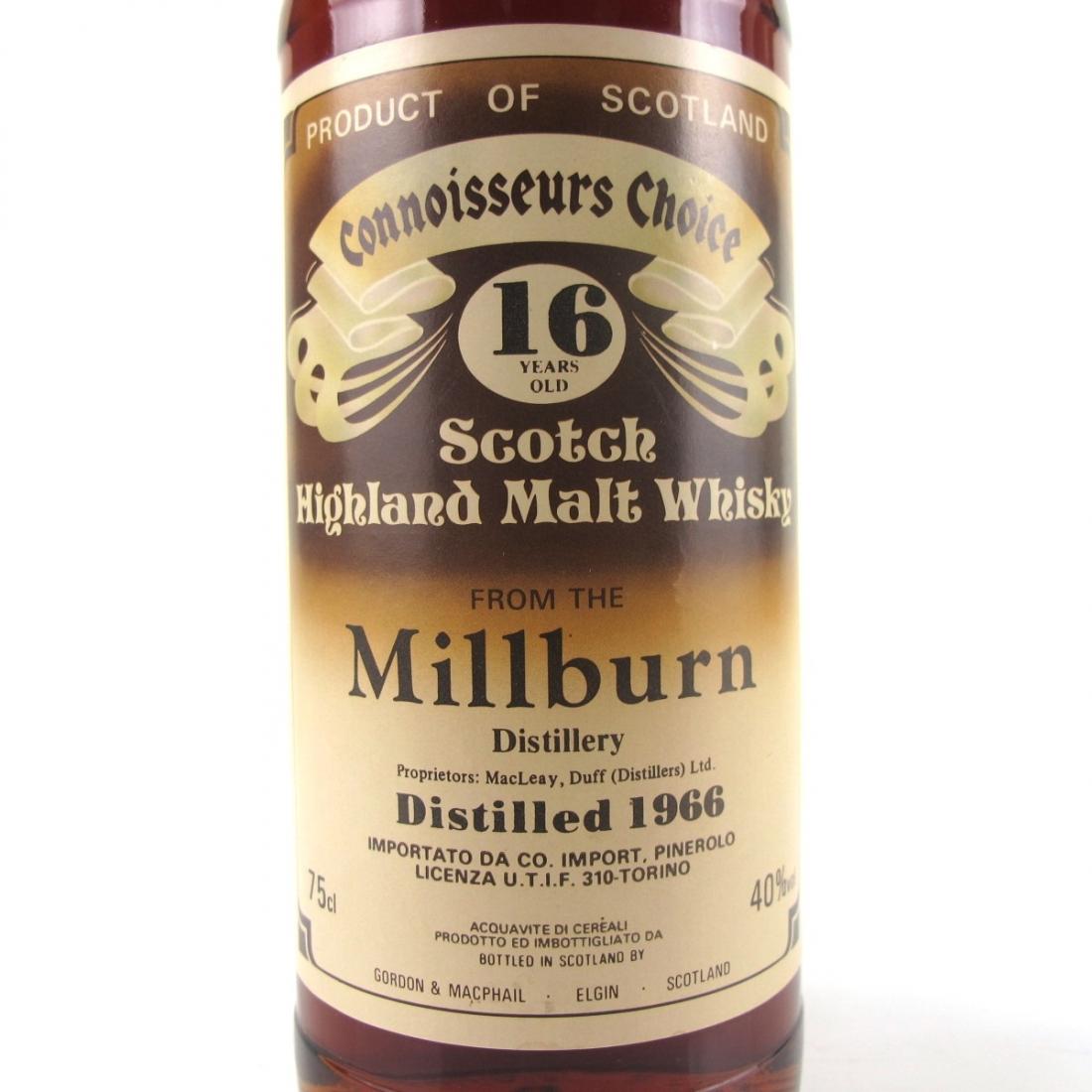 Millburn 1966 Gordon and MacPhail 16 Year Old