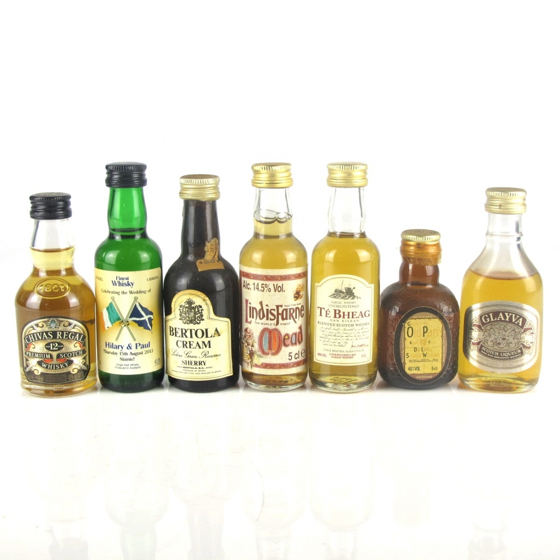 Miscellaneous Miniature Selection 7 x 5cl