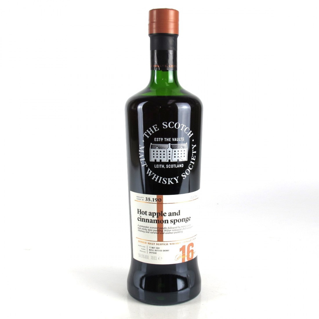 Glen Moray 2001 SMWS 16 Year Old 35.190