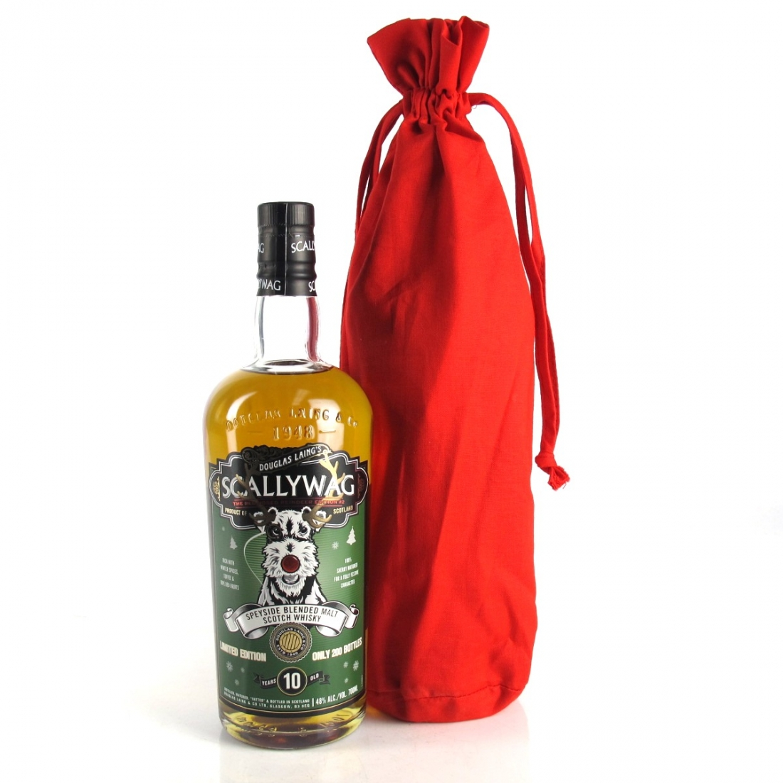Scallywag 10 Year Old Speyside Blended Malt / Red-Nosed Reindeer Edition 2