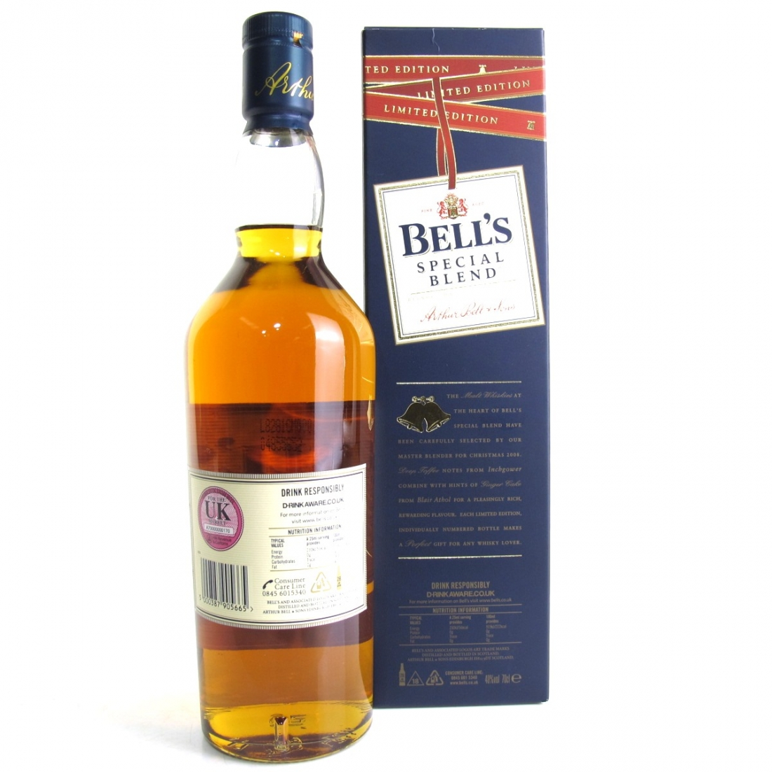 Bell's Pure Malt Christmas 2008 Limited Edition