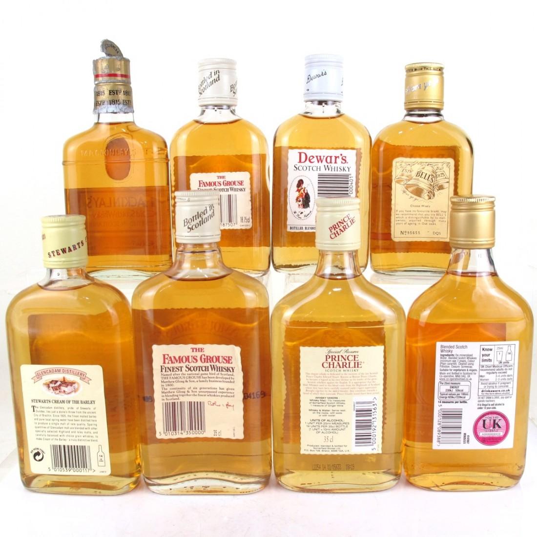 Miscellaneous Blended Whisky Half & Quarter Bottles x 8