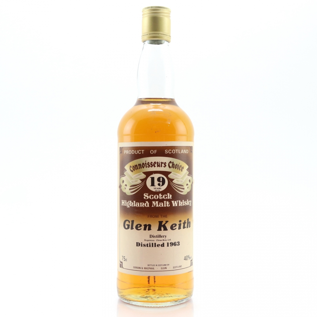 Glen Keith 1963 Gordon and MacPhail 19 Year Old