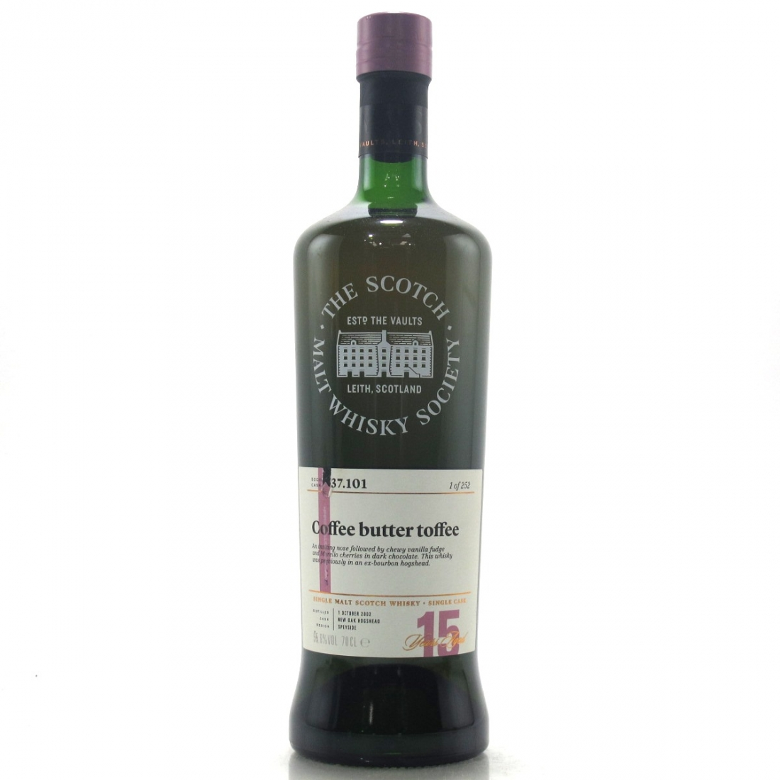 Cragganmore 2002 SMWS 15 Year Old 37.101