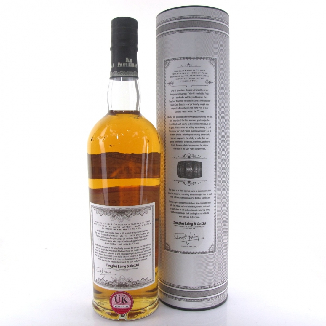 Glen Keith 1993 Douglas Laing 21 Year Old