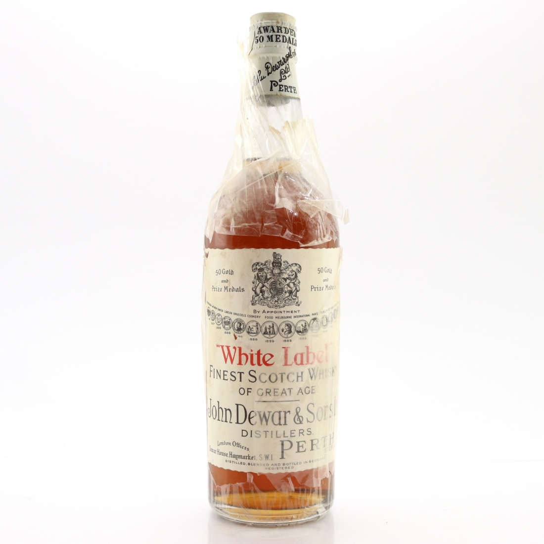 Dewar's White Label circa 1940s
