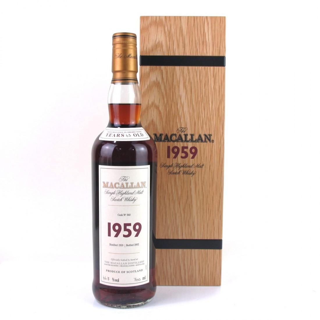 Macallan 1959 Fine and Rare