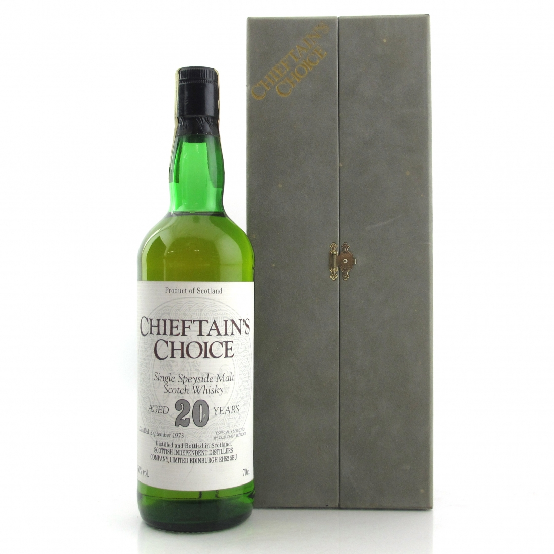Speyside Single Malt 1973 Chieftain's Choice 20 Year Old