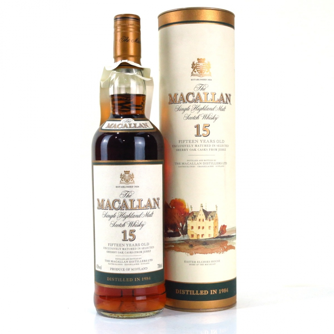 Macallan 15 Year Old 1984