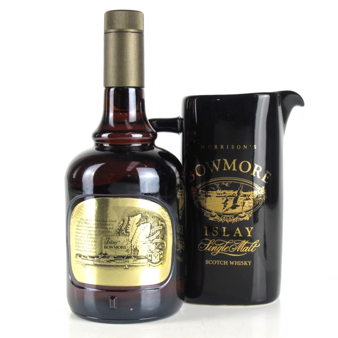 Bowmore 12 Year Old 1980s / includes Water Jug