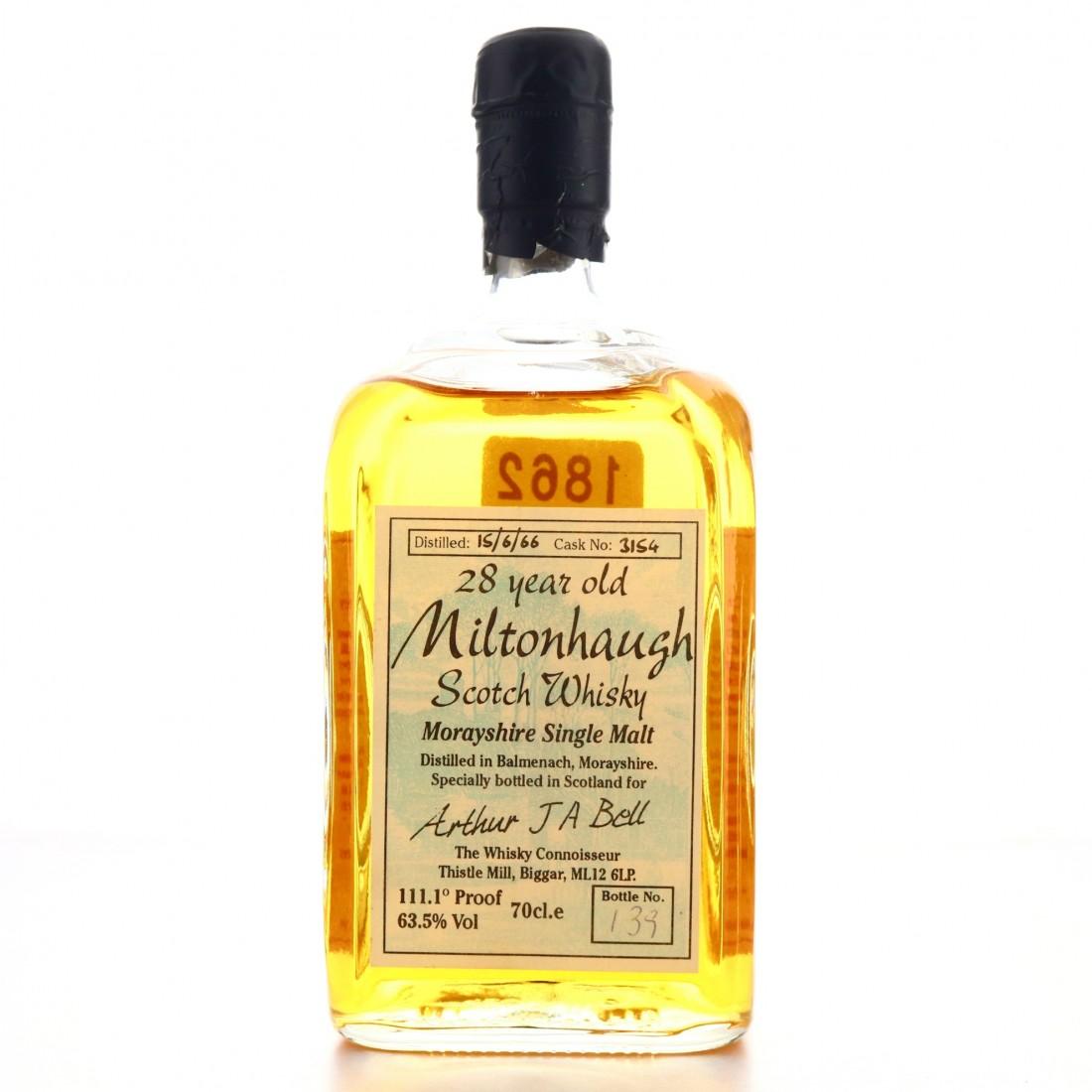 Balmenach 'Miltonhaugh' 1966 Whisky Connoisseur 28 Year Old