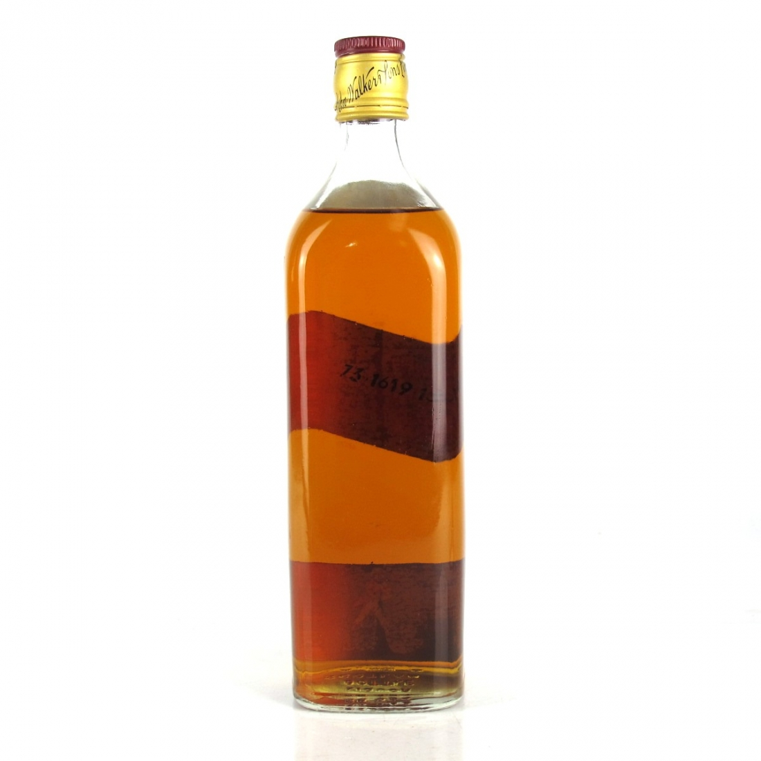 Johnnie Walker Red Label 1973