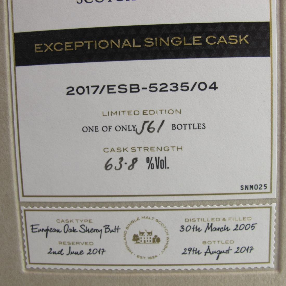 Macallan 2005 Exceptional Cask #5235-04