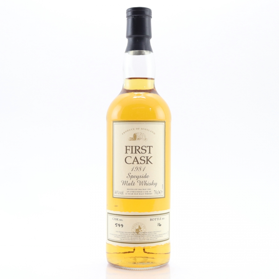 Glenallachie 1981 First Cask 22 Year Old