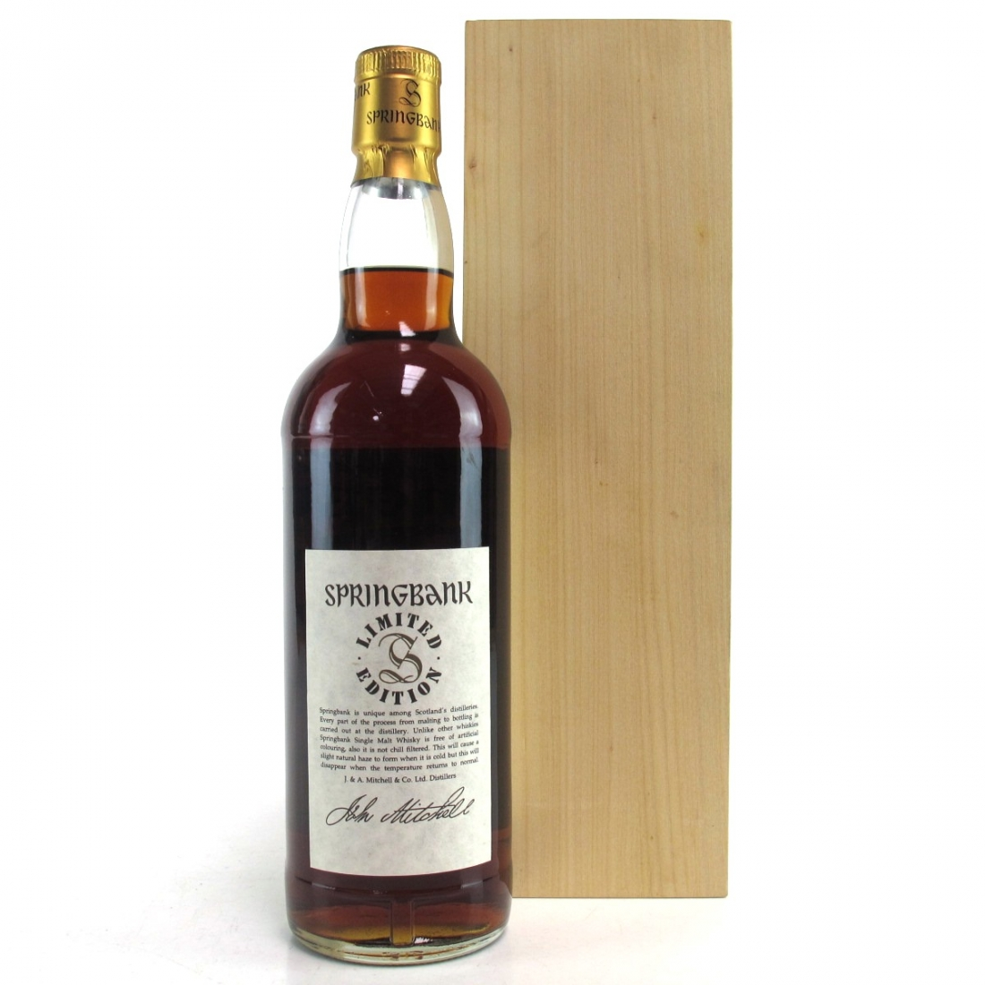 Springbank 30 Year Old Millennium Limited Edition