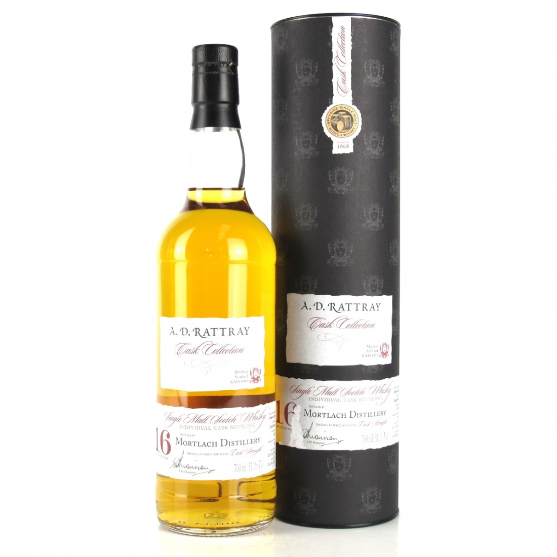 Mortlach 1995 A.D. Rattray 16 Year Old