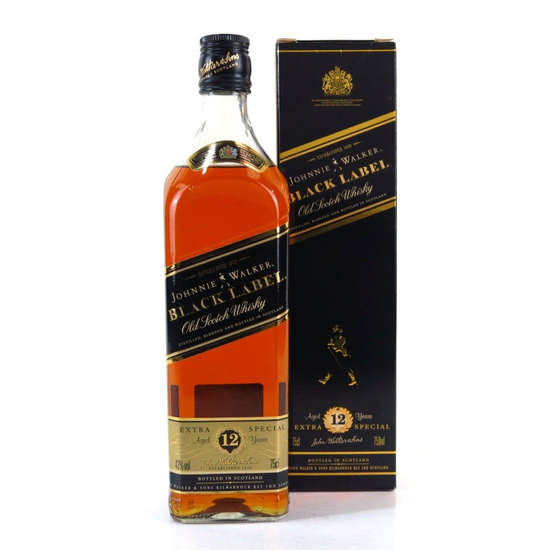 Johnnie Walker Black Label 12 Year Old 1980s