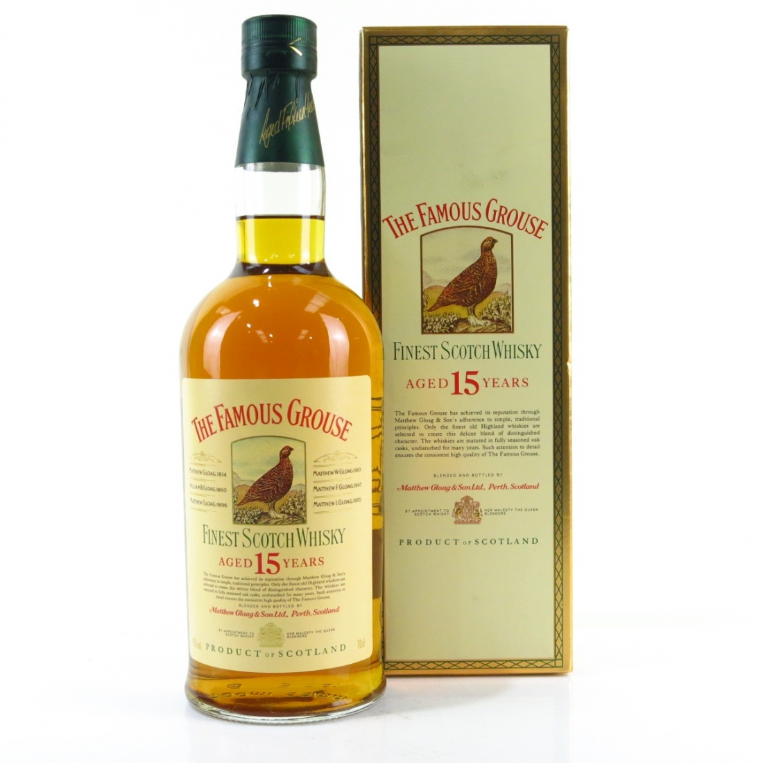 Famous Grouse 15 Year Old