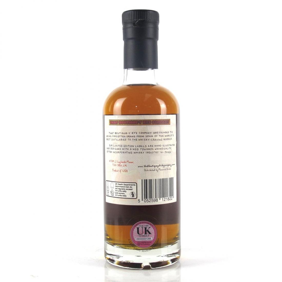 New York Distilling Co That Boutique-y Rye Company 2 Year Old Batch #1