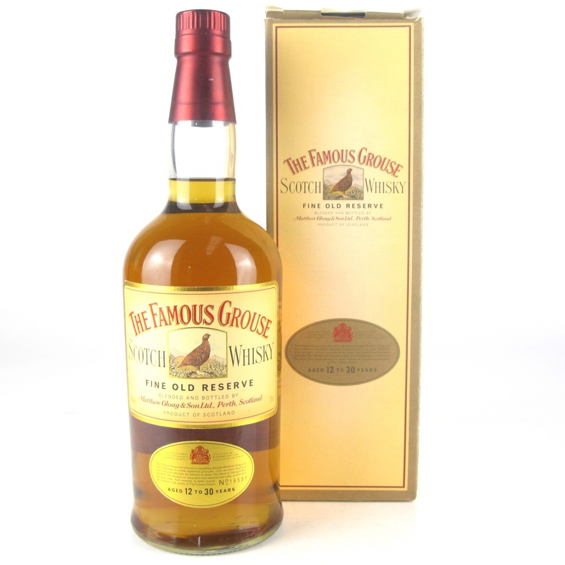 Famous Grouse Fine Old Reserve 1980s / Japanese Import