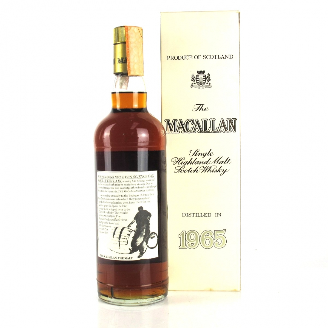 Macallan 1965 17 Year Old