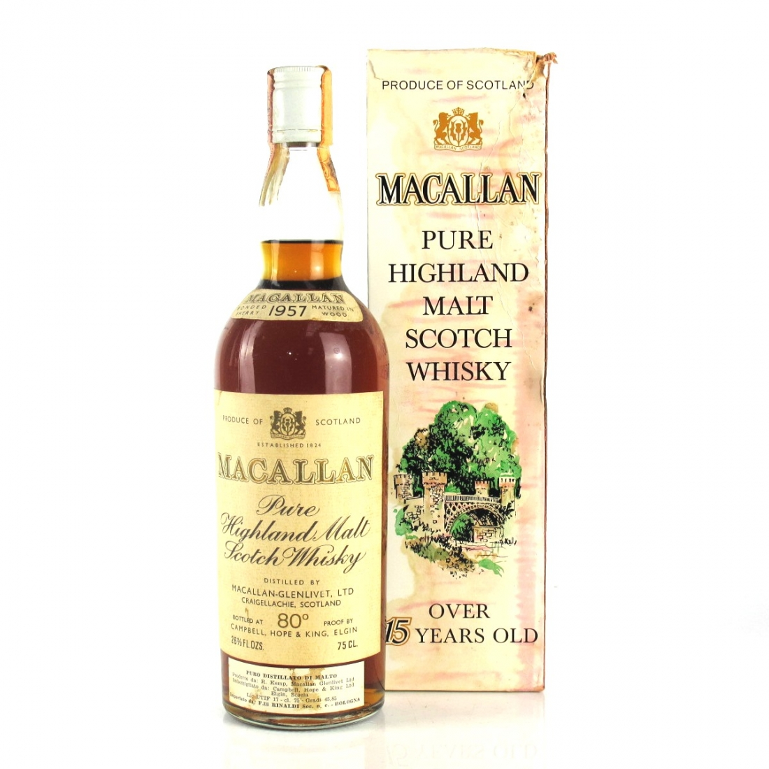 Macallan 1957 Campbell, Hope and King