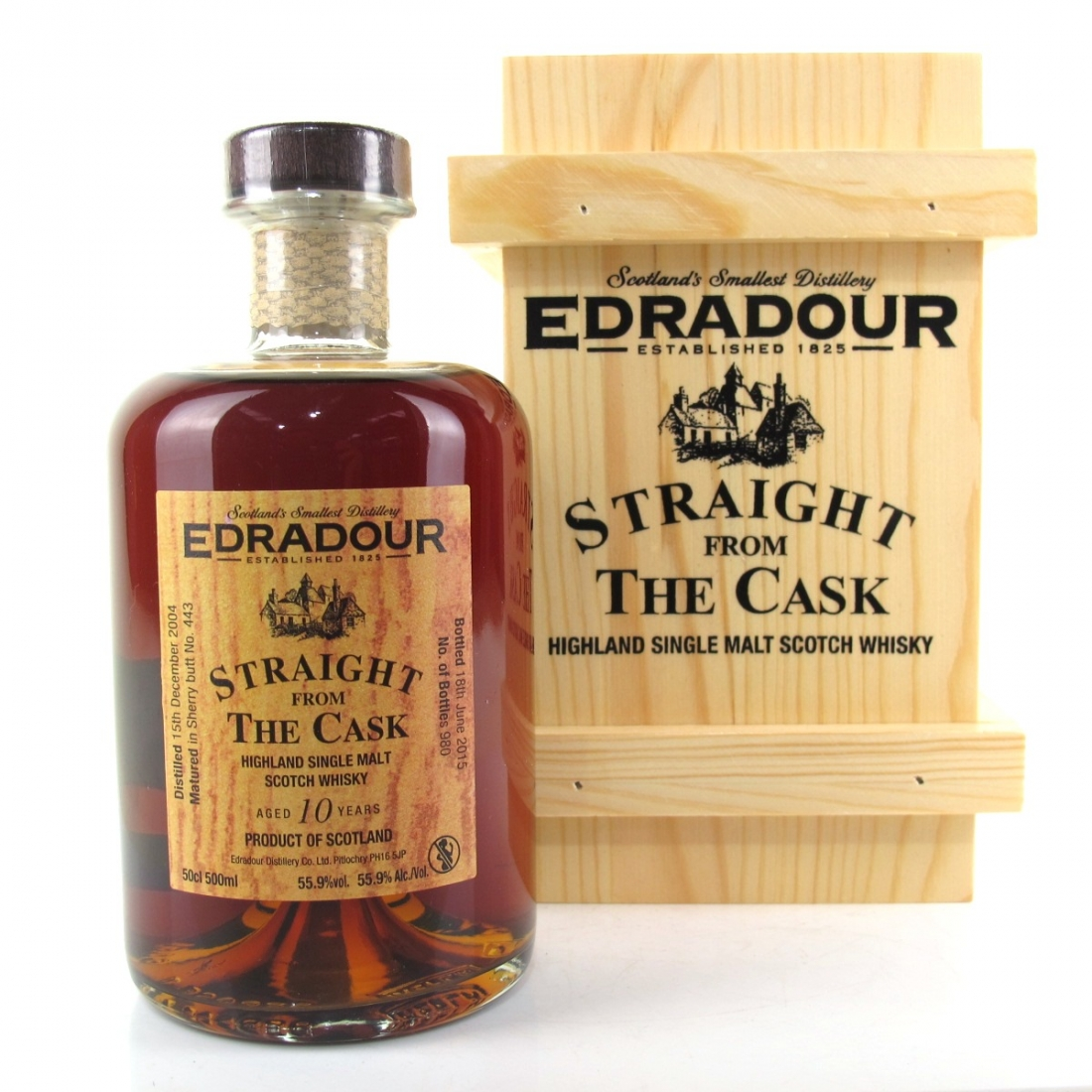 Edradour 2004 Straight from the Cask 10 Year Old / Sherry Cask