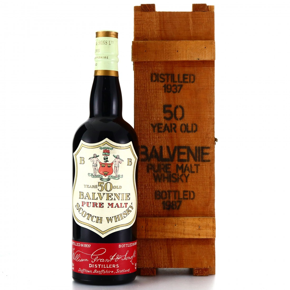 Balvenie 1937 Pure Malt 50 Year Old 75cl / Milroy's of Soho