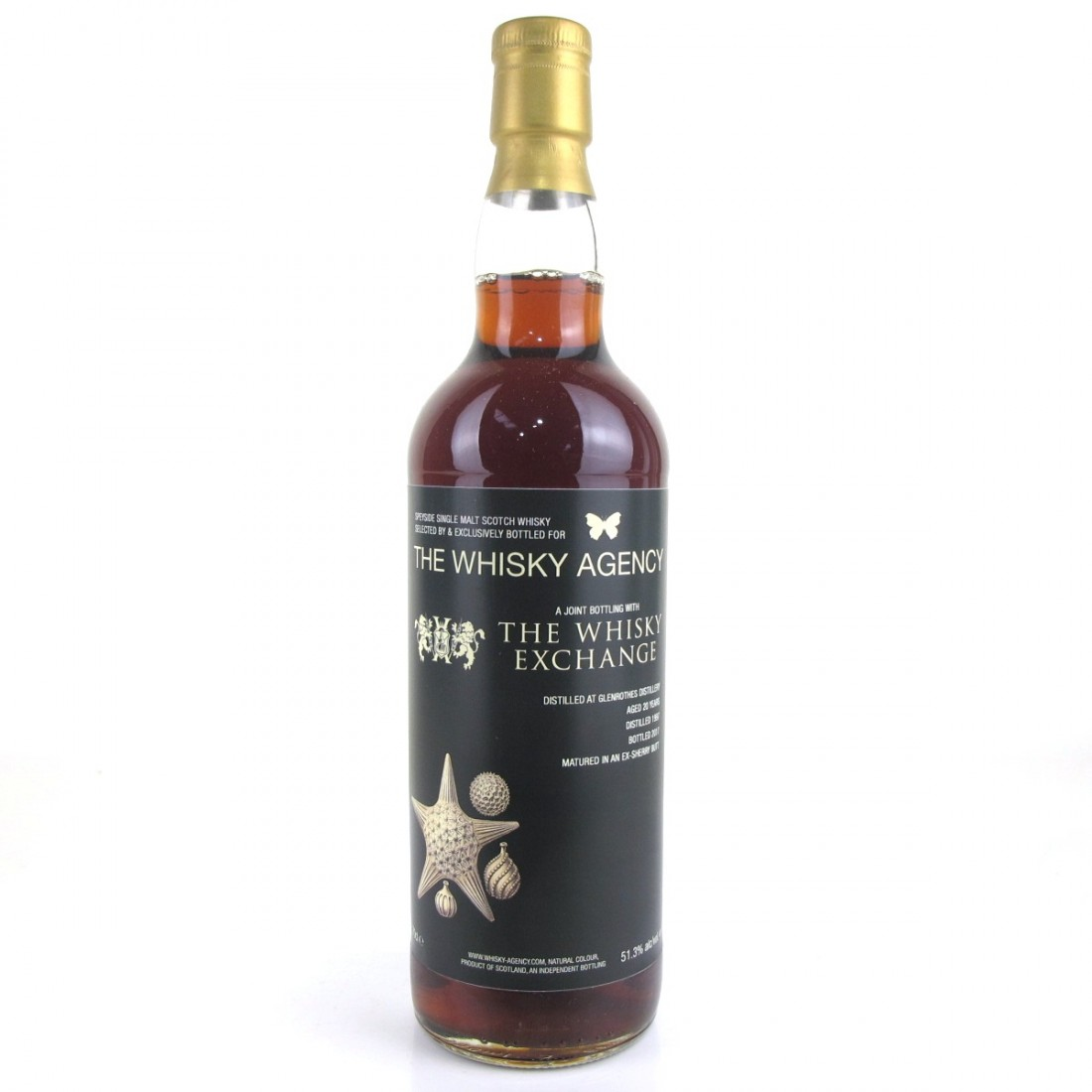 Glenrothes 1997 Whisky Agency 20 Year Old / TWE