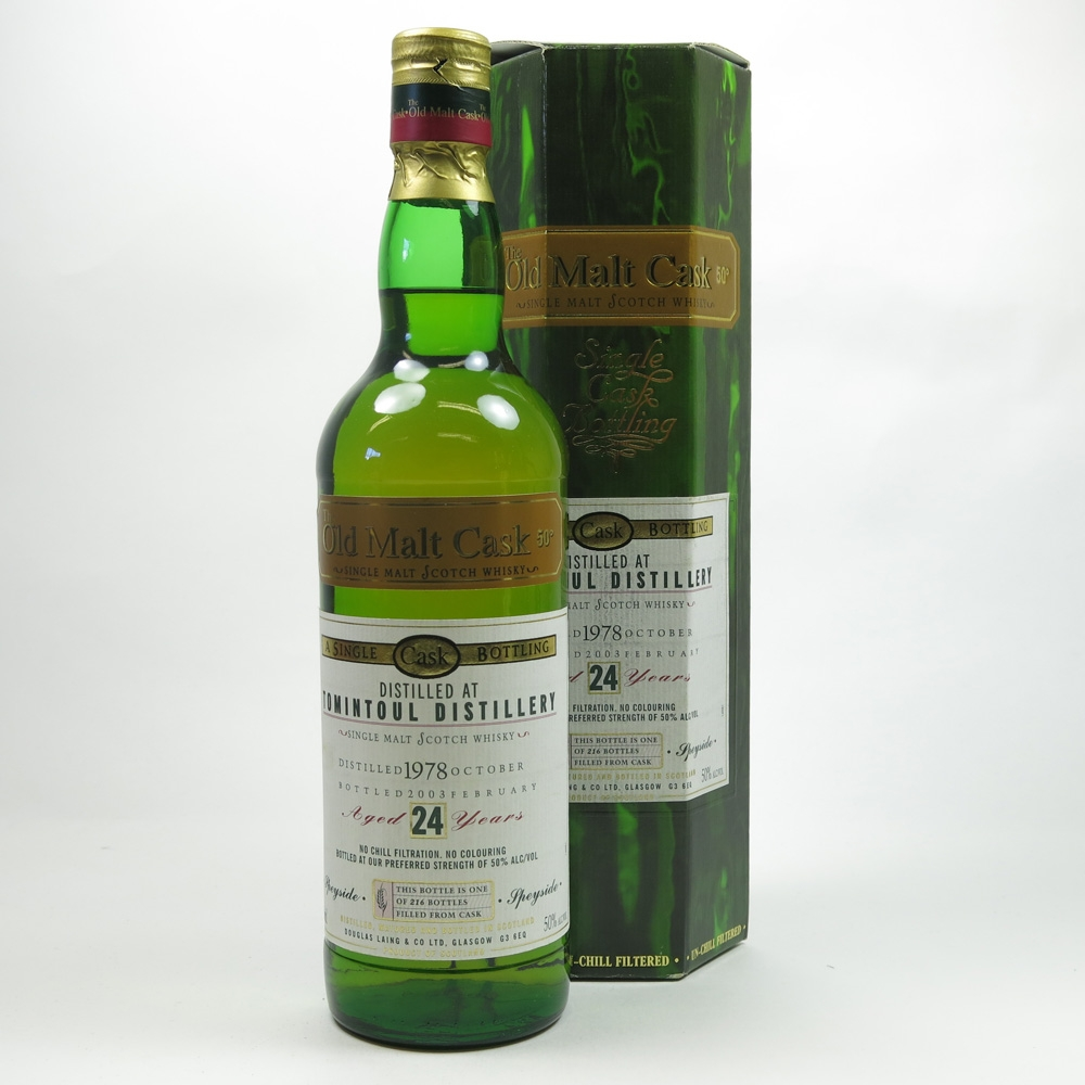 Tomintoul 1978 Douglas Laing 24 Year Old