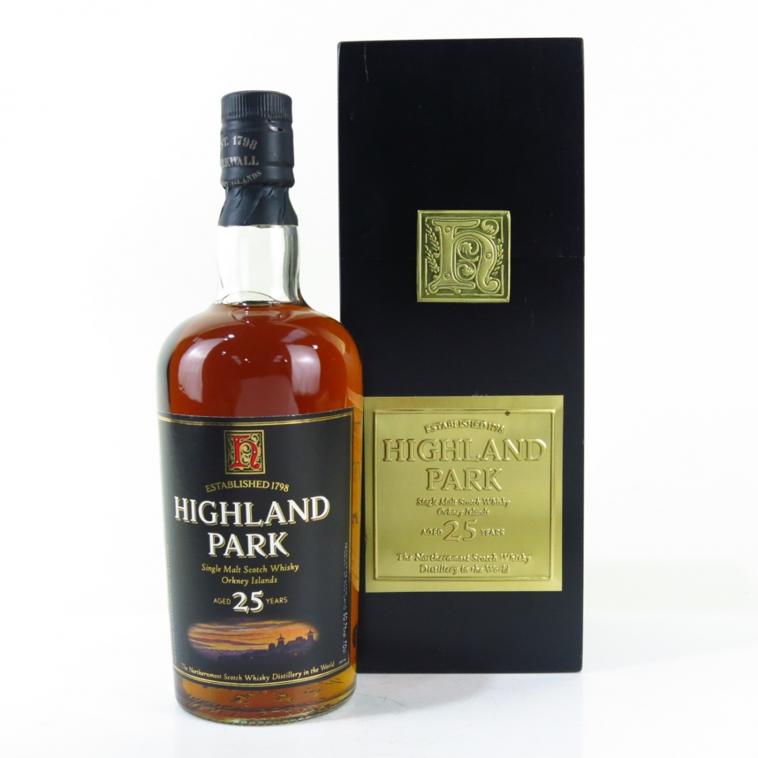 Highland Park 25 Year Old / Square Box