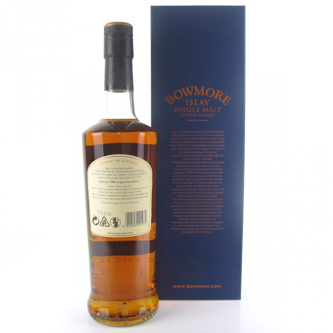 Bowmore 1988 Port Cask 21 Year Old