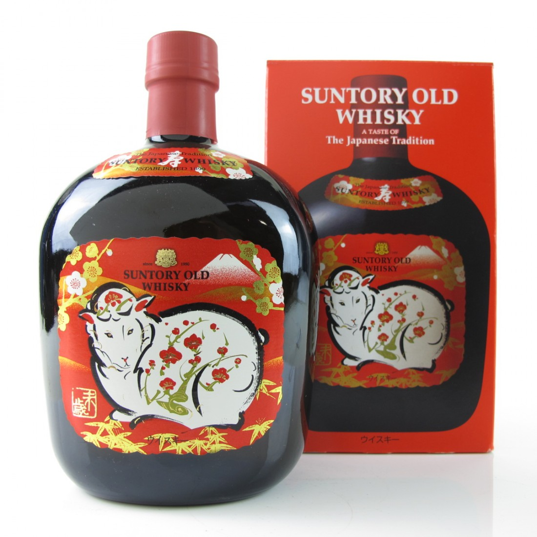 Suntory Old Whisky / Sheep Label