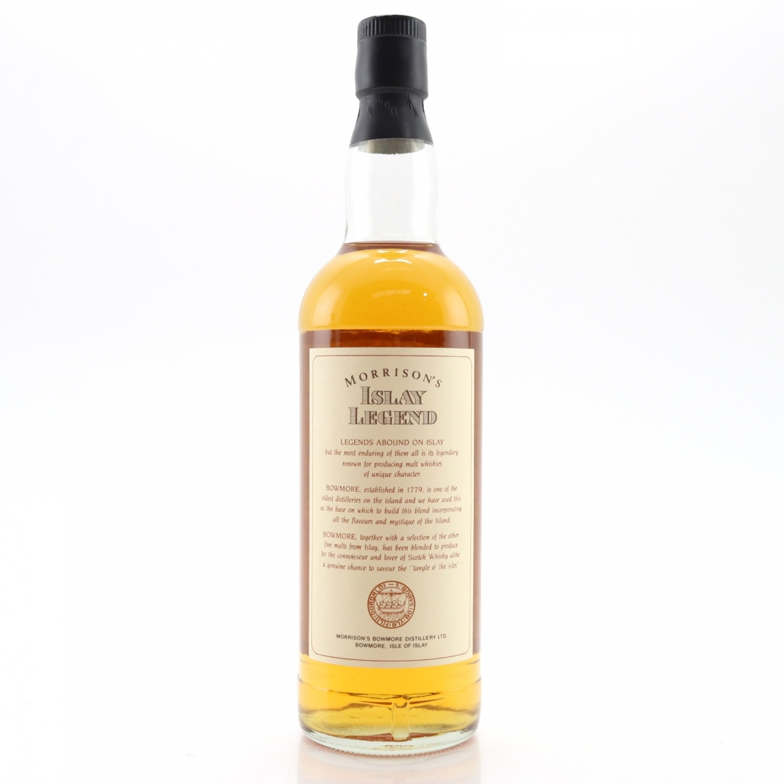 Morrisons' Islay Legend 8 Year Old Scotch Whisky