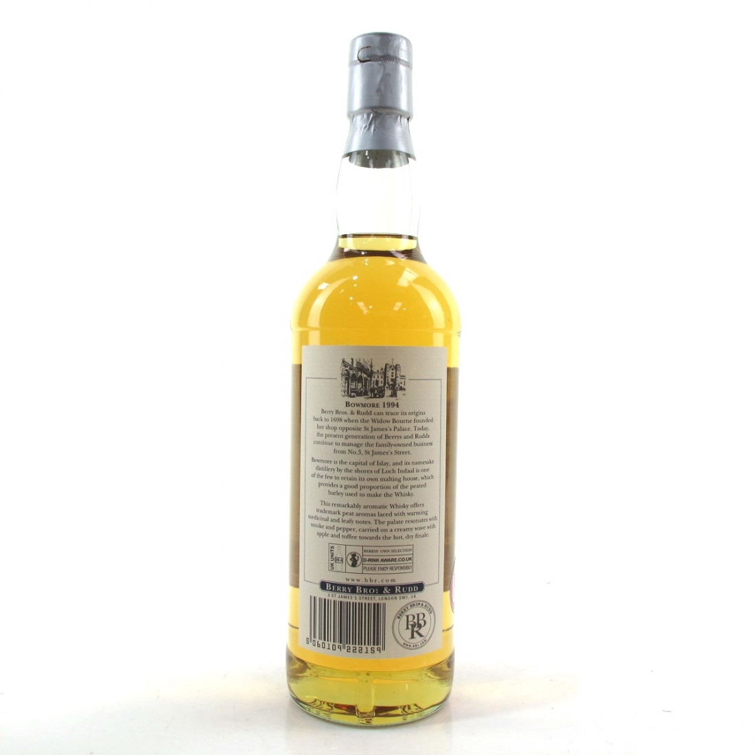Bowmore 1994 Berry Brothers and Rudd