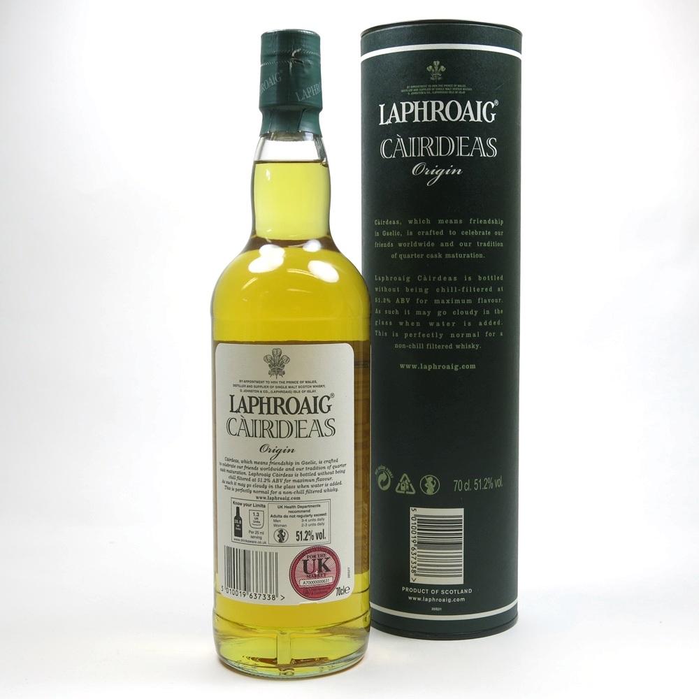 Laphroaig Cairdeas Origin Feis Ile 2012 / Signed