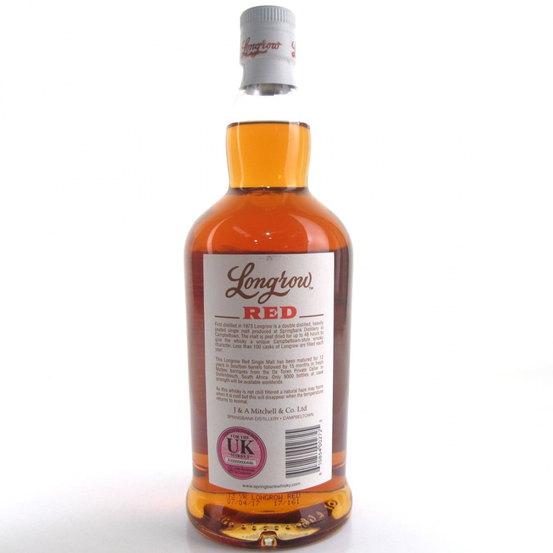 Longrow 'Red' 13 Year Old Malbec