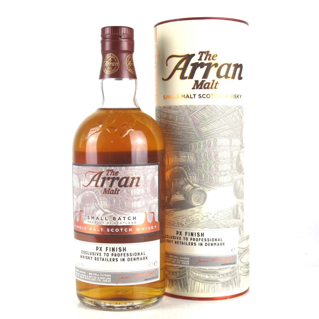 Arran Small Batch 10 Year Old PX Cask Finish / Danish Retail Exclusive