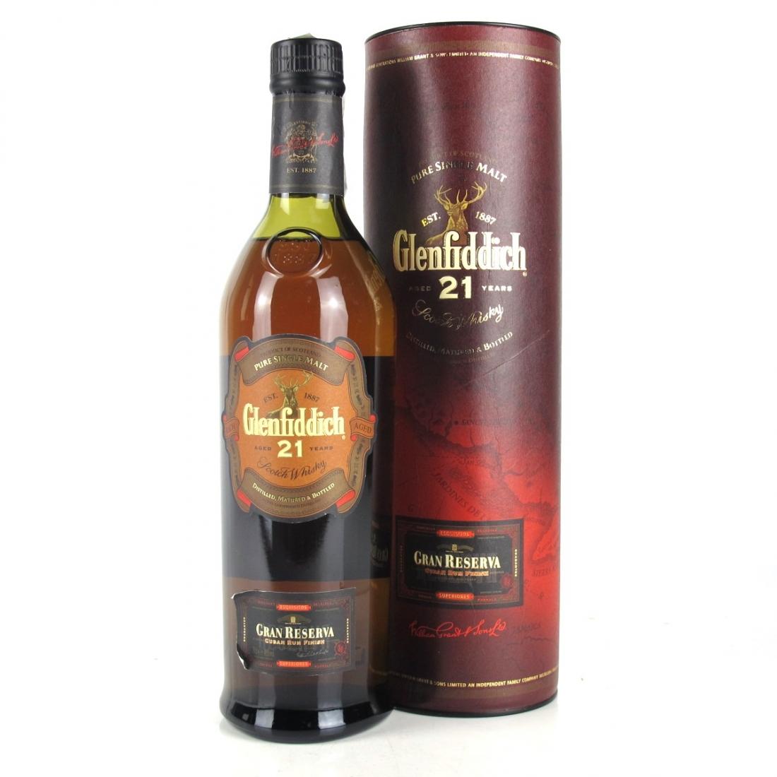 Glenfiddich 21 Year Old Gran Reserva / Cuban Rum Finish