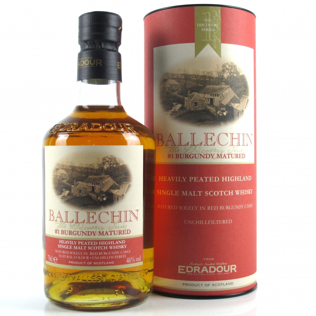 Edradour Ballechin Batch #1 / Burgundy Matured​