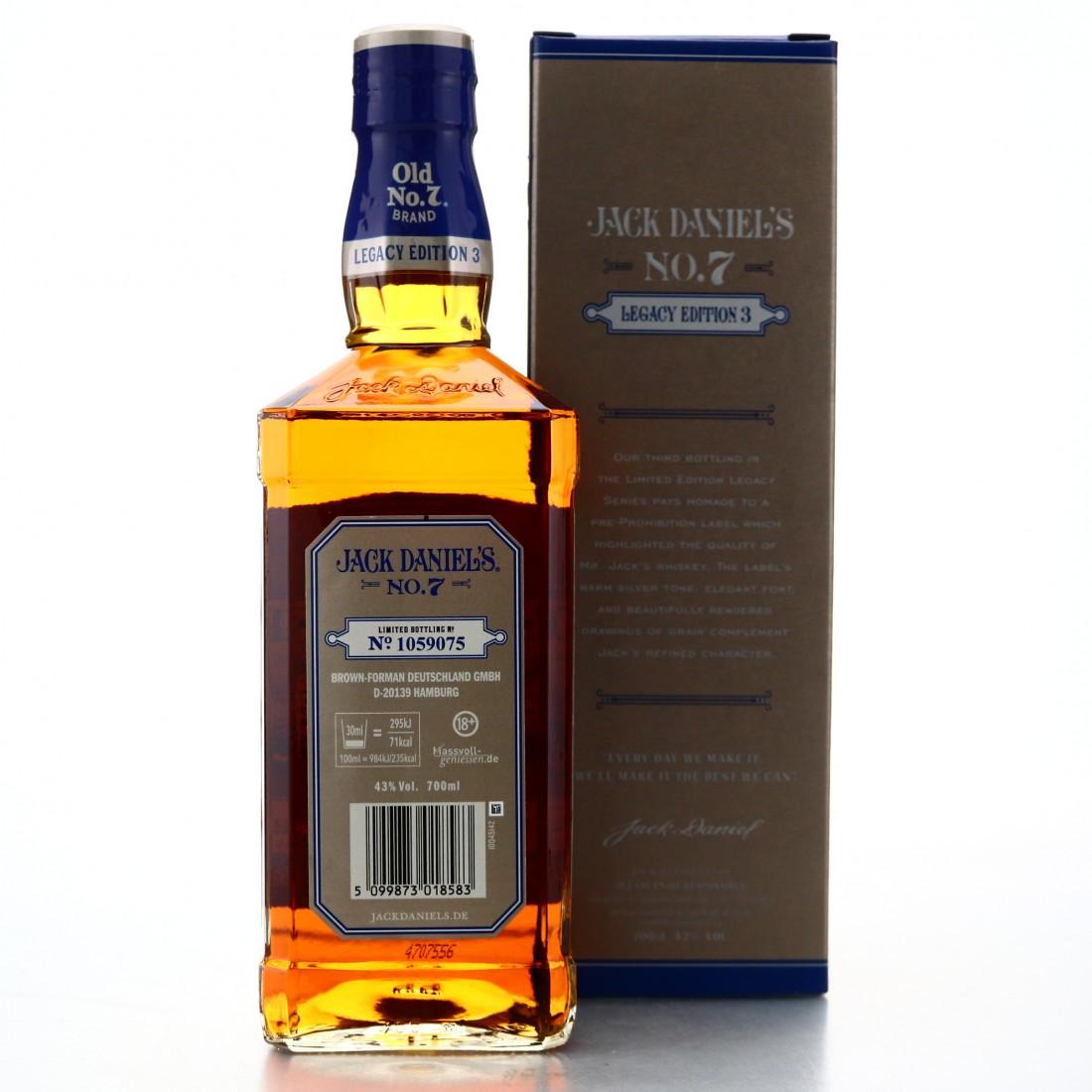 Jack Daniel's Old No.7 Legacy Edition 3