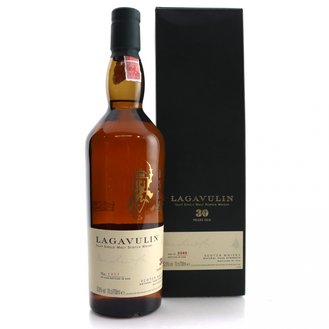 Lagavulin 1976 30 Year Old 2006 Release