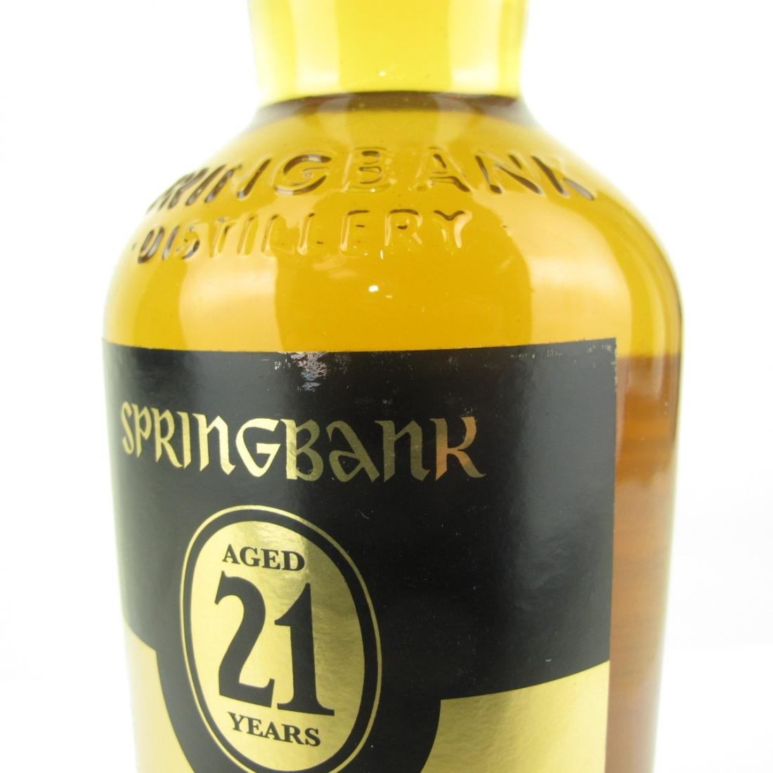 Springbank 21 Year Old Single Cask / Olorosro Sherry
