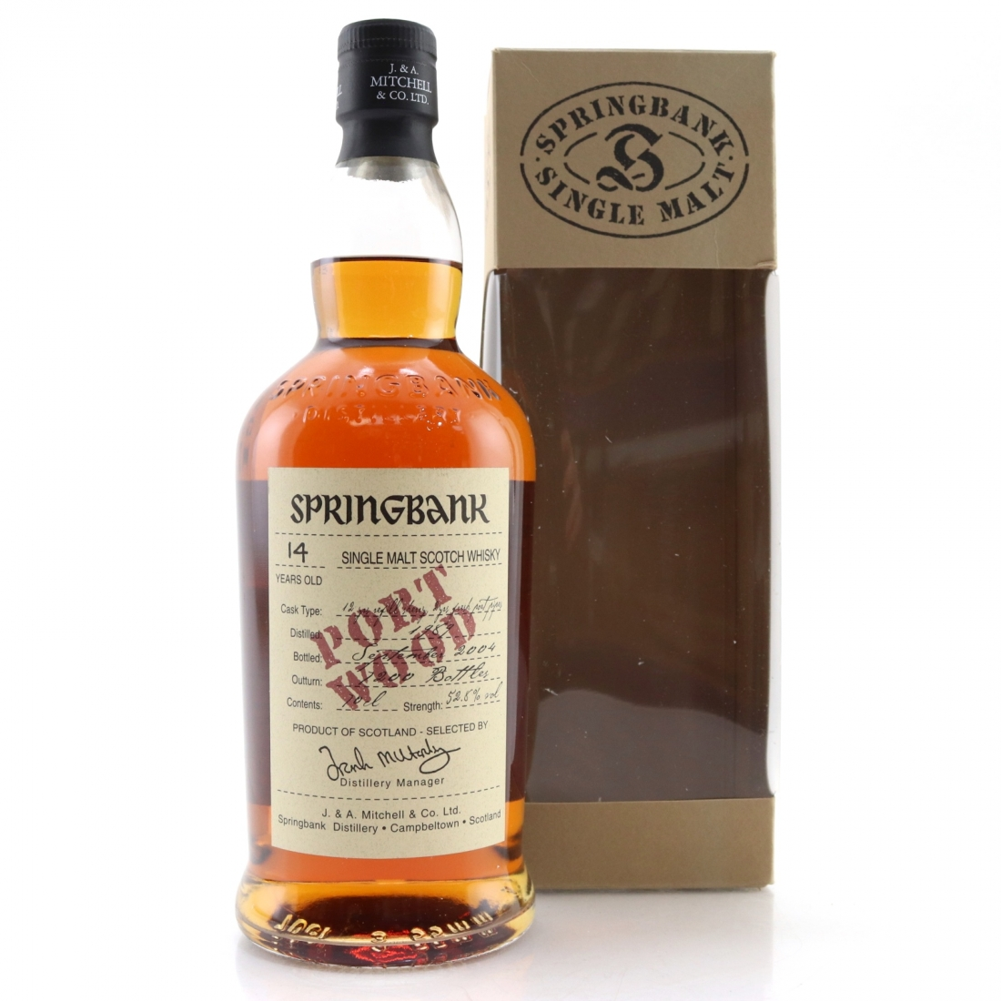 Springbank 1989 Port Wood 14 Year Old