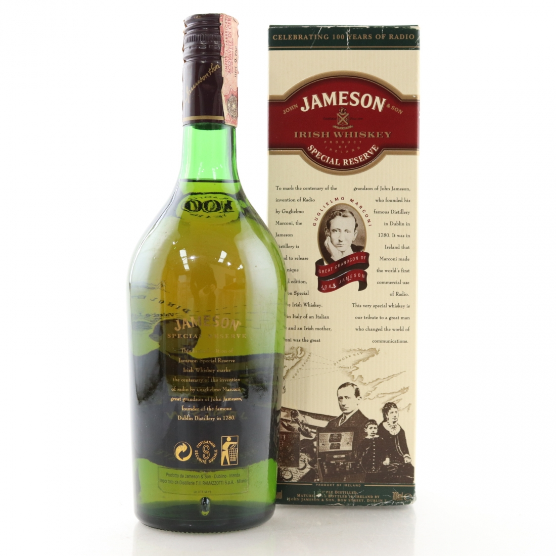 Jameson Special Reserve / 100 Years of Radio