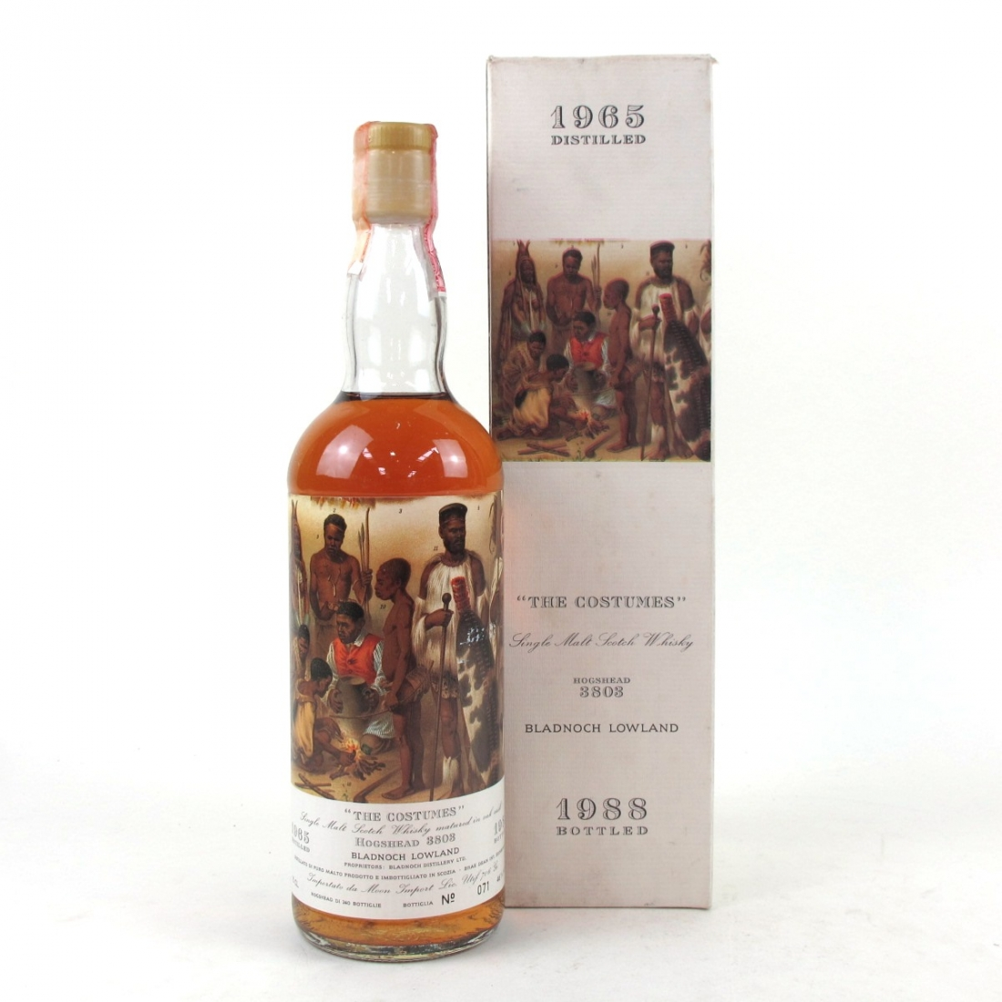 *Moon Imports Costume Collection: Bladnoch 1965 Hogshead #3803