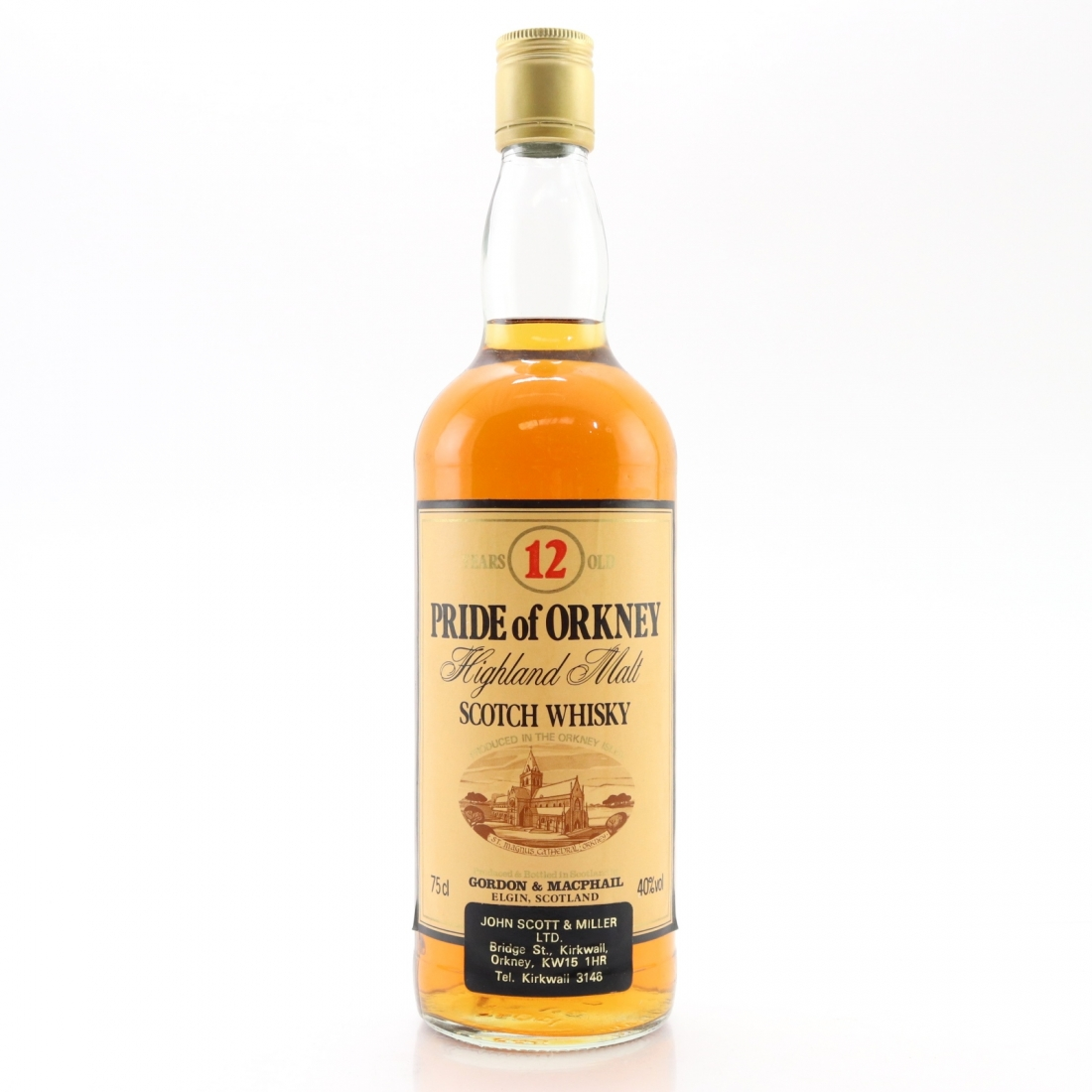 Pride of Orkney 12 Year Old Gordon and MacPhail 1980s